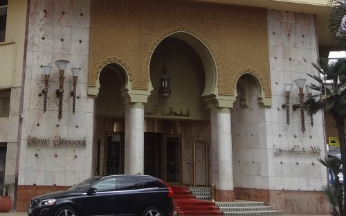 Hotel Royal Mansour, en Casablanca