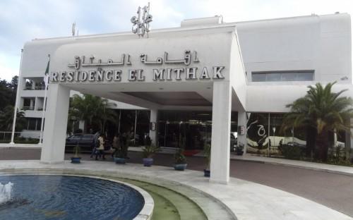 Residencia El Mithak, en Argel