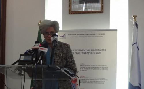 Sra Cristina Amaral, Representante Residente del PNUD