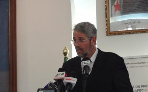 Sr. Ahmed Ferroukhi, Ministro de Pesca y de Recursos Halieuticos