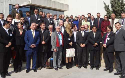 Participantes y observadores de la Reunión de Ministros