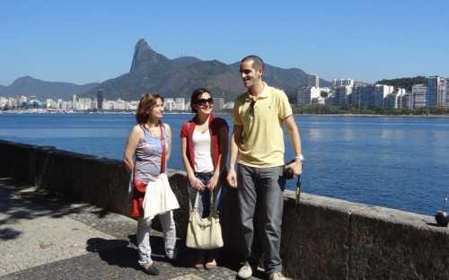 equipo de INFOPESCA: Graciela Pereira, Carolina Ipar y Javier López