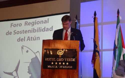 Árni Mathiesen, Subdirector General de Pesca y Acuicultura de FAO