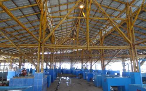 Mercado de la Pesca Artesanal en Manta