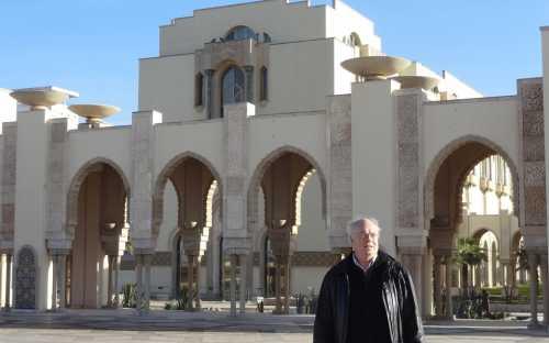 Roland Wiefels en Casablanca