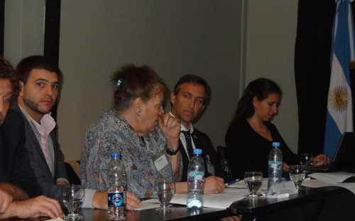intervención de Laura Luchini, de la delegación argentina