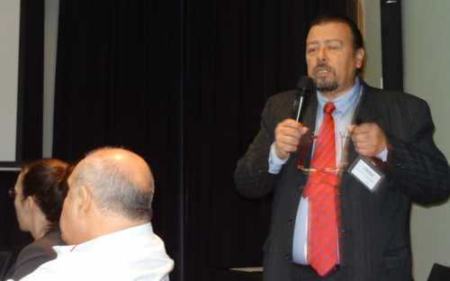 exposición de Alejandro Covarrubias, de la SERNAPESCA, sobre el sistema estadístico pesquero de Chile