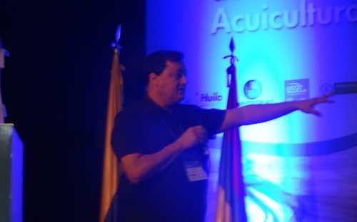 Sergio Zimmermann, presentando Latinoamérica y el Caribe
