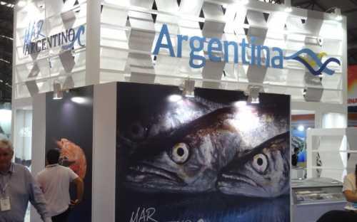 El Mar Argentino en la feria
