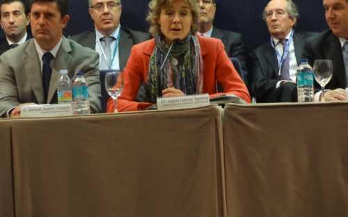 Inauguración de la feria por la Sra Isabel Garcia Tejerina, Ministra d eAgricultura, Alimentación y Medio Ambiente de España