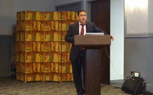 Introduccion por el Sr. Mohammed Essabar, representante del Ministerio de Comercio Exterior de Marruecos
