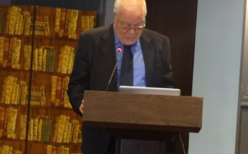 Apertura del taller por el Sr. Hassan Sentissi, presidente del FENIP