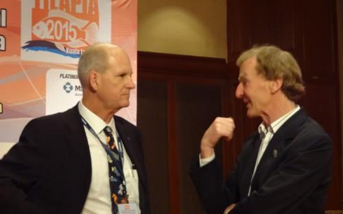 Dr. Kevin Fitzsimmons y Dr. Eric Roderick de la Universidad de Swansea (Reino Unido)