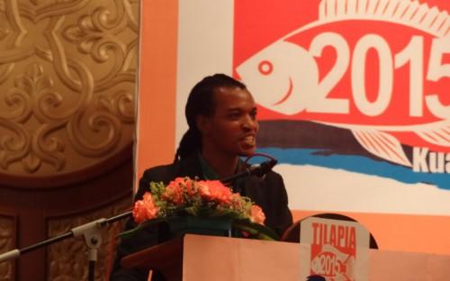 Blessing Mapfumo presentando el mercado africano