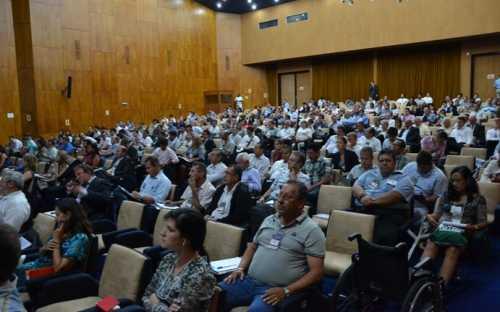 Los participantes atentos