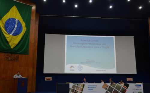 Felipe Matias, de la RAA, presentado una sintesis latinoamericana