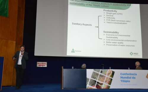 Rodrigo Zanolo y los aspectos sanitarios en la productividad acuícola