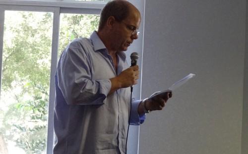 Eduardo de Faria Miranda, Vice-Presidente del SAPERJ
