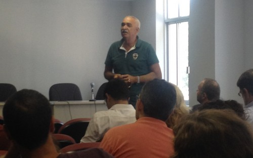 Gilberto Alves, Presidente da Colonia de Pescadores Z8