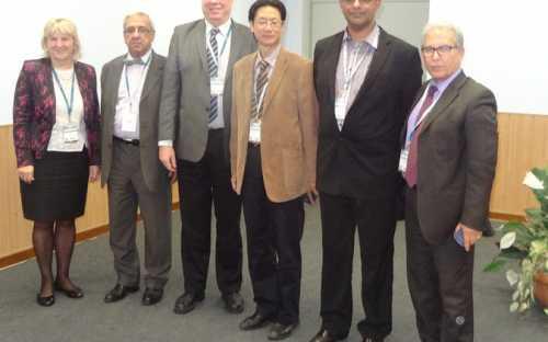 Directores de EUROFISH, INFOSAMAK, INFOPESCA, INFOYU, INFOFISH e INFOPECHE