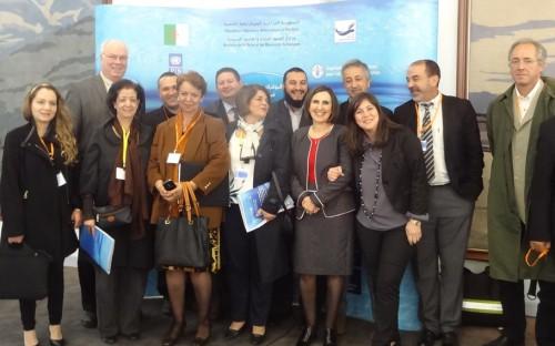Equipo del proyecto junto con equipo del Ministerio de Pesca de Argelia y del equipo de FAO-DZ